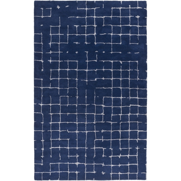 Mike Farrell :Hand-Tufted Amelie Geometric Wool Rug (2' x 3')
