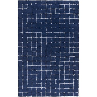 Mike Farrell :Hand-tufted Amelie Geometric Wool Rug (8' x 11')