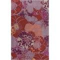 Hand-tufted Alayna Floral Polyester Rug (2' x 3')