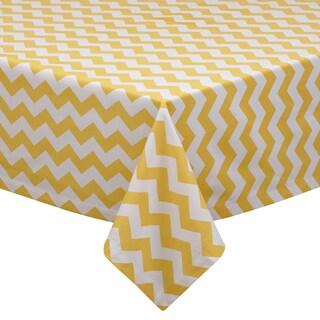 Snapdragon Chevron Tablecloth