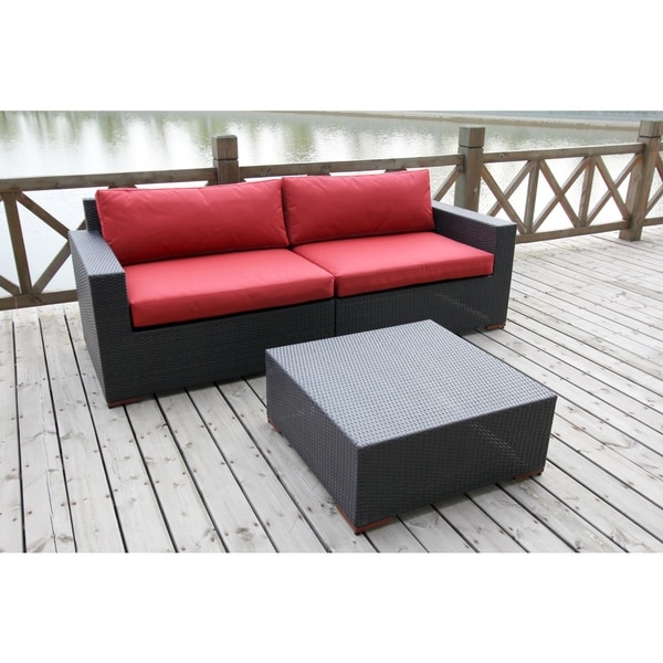 Andover 3-piece Deep Seating Sofa And Coffee Table