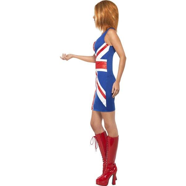 Women's Union Jack Dress Costume