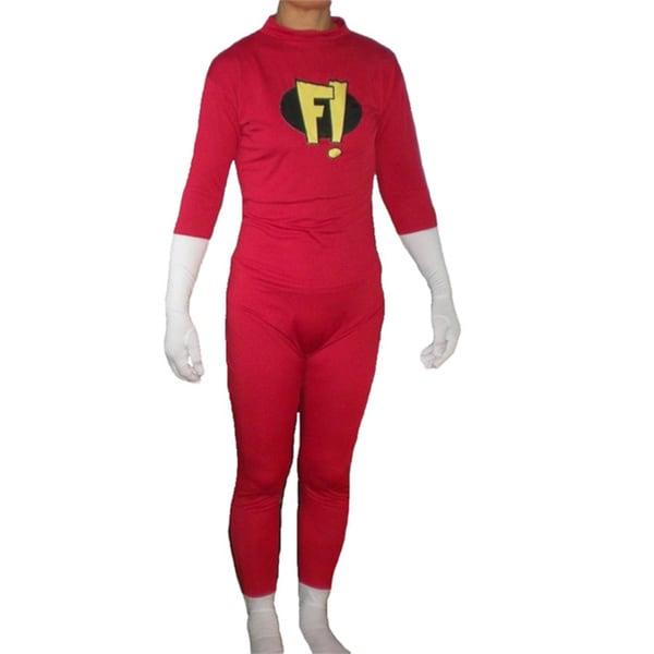 Adult Freakazoid Costume Body Suit