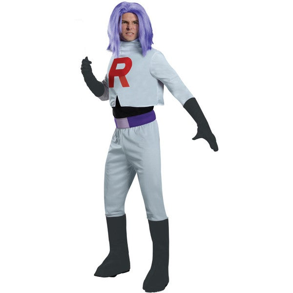 Adult Team Rocket James Costume Pokemon