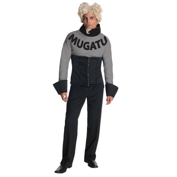 Adult Zoolander Mugatu Costume and Wig