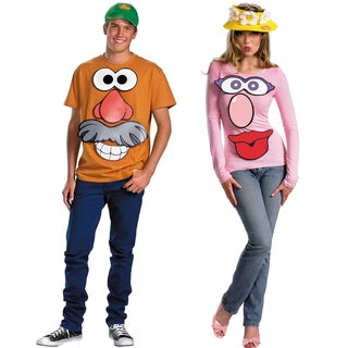 Mr. and Mrs. Potato Head Couples Costume Kit