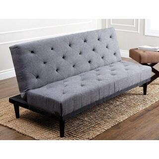 ABBYSON LIVING 'Marlene' Grey Fabric Futon Sofa Bed