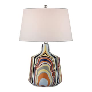 Dimond Tecnicolor Stripes 1-light Ceramic Table Lamp