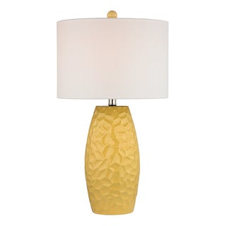 Dimond Selsey Sunshine Yellow 1-light Ceramic Table Lamp