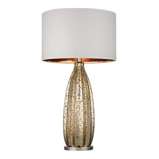 Dimond Pennistone 1-light Gold Mercury Glass Bullet Lamp