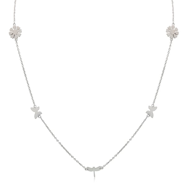 Sterling Silver Beauty Of Nature Necklace