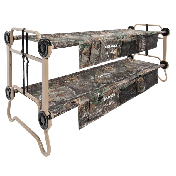 Cam-O-Bunk Realtree XTRA Large Portable Double Bunk Bed