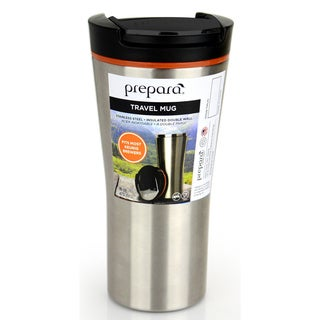 Prepara Stainless Steel Double-wall Insulated Travel Mug