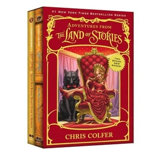 Adventures from the Land of Stories Set: The Mother Goose Diaries and Queen Red Riding Hood's Guide to Royalty (Hardcover)
