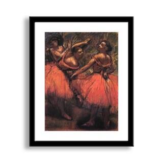 Gallery Direct Edgar Degas' 'Orange Skirts' Framed Paper Art