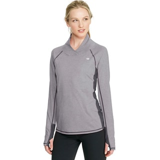 Champion Women's Power Cotton Mock Neck