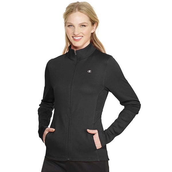 Champion Women's PowerTrain Tech Fleece Jacket
