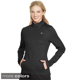 Champion Women's PowerTrain Tech Fleece Jacket