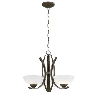 Kichler Lighting Transitional 3-light Aged Bronze Chandelier