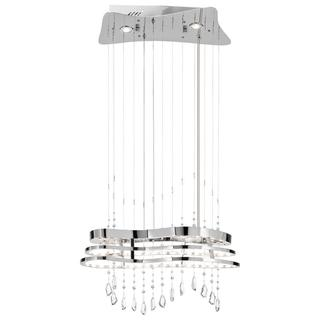Kichler Lighting Cascade Collection Contemporary LED Chrome Chandelier