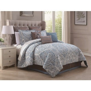 Donatella 9-piece Cotton Comforter Set