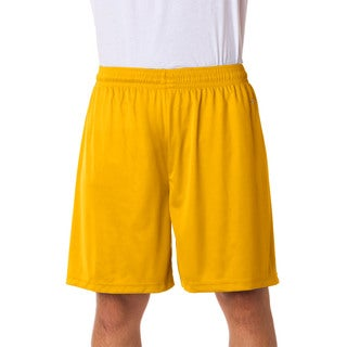 Men's Gold Athletic Sports Shorts