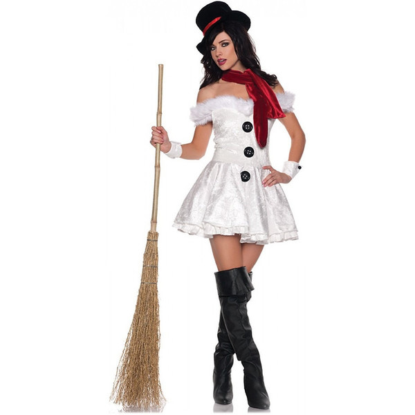 Women's Frosty the Snowman Costume