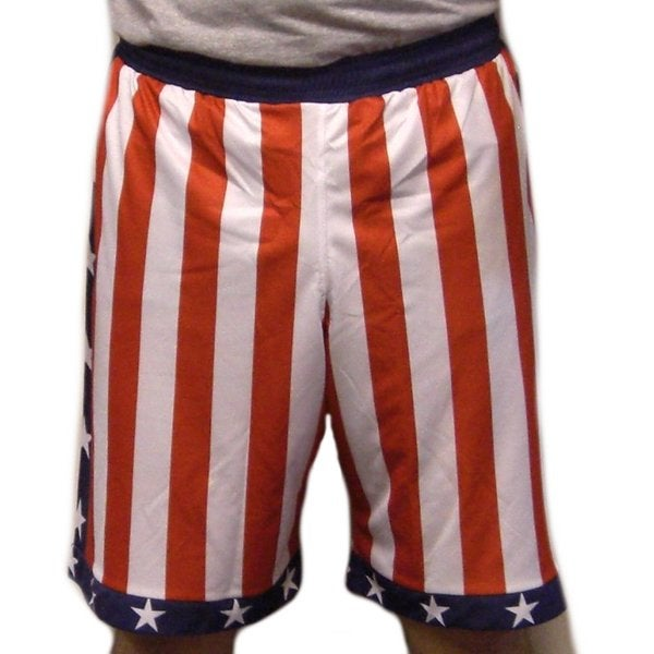 Men's American Flag Sports Shorts