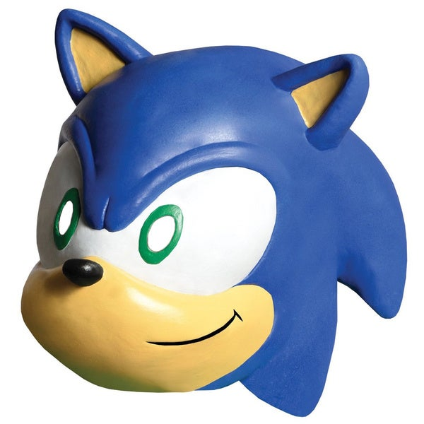 Sonic the Hedgehog Vinyl Mask