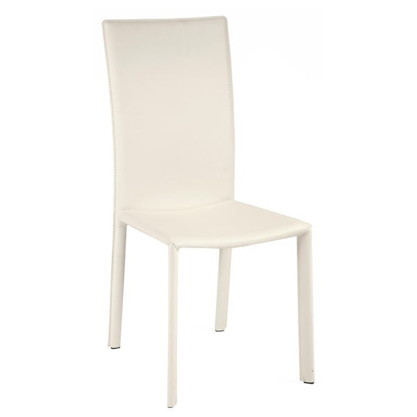Christopher Knight Home Sophie White Side Chair (Set of 2)