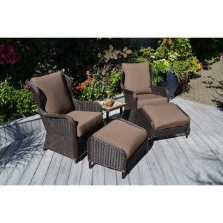 My Patio My Way Westport 5-piece Chat Group Furniture Set