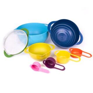 Multicolor Food Prep 8-piece Kitchen Set