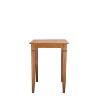 Solid Beech Wood Bar Table