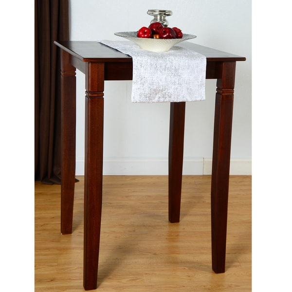 Solid Beech Wood Bar Table
