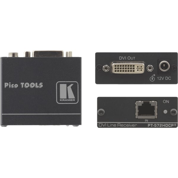 Kramer PT-572HDCP+ DVI (HDCP) over Twisted Pair Receiver