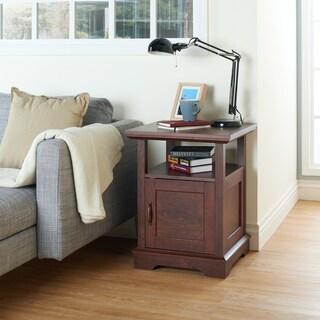Furniture of America Herale Vintage Walnut End Table