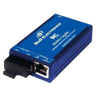 IMC MiniMc-Gigabit Twisted Pair to Fiber Media Converter