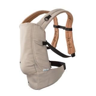 Evenflo Khaki Orange Natural Fit Soft Carrier