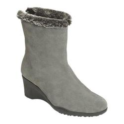 Women's Aerosoles Attorney Boot Dark Gray Suede