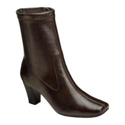 Women's Aerosoles Geneva Boot Brown Faux Leather