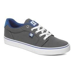Men's DC Shoes Anvil TX Grey/Blue