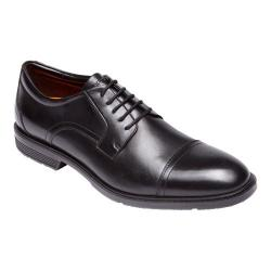 Men's Rockport City Smart Cap Toe Oxford Black Leather