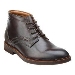 Men's Clarks Bushwick Mid Dark Brown Leather