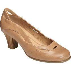 Women's A2 by Aerosoles Aribesque Cutout Pump Nude Faux Leather