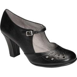 Women's Aerosoles Role Of Fate Mary Jane Black Faux Leather