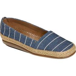 Women's Aerosoles Solitaire Denim Stripe Fabric