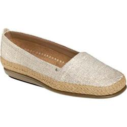 Women's Aerosoles Solitaire Silver Fabric