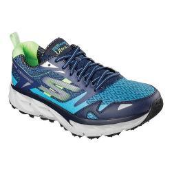 Men's Skechers GOtrail Ultra 3 Running Shoe Blue/Green