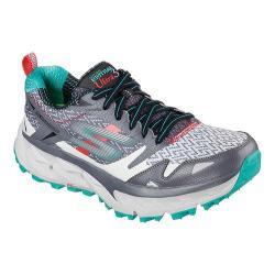 Women's Skechers GOtrail Ultra 3 Running Shoe Charcoal/Teal