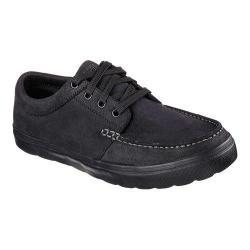 Men's Skechers GOvulc Decoy Moc Toe Lace Up Black